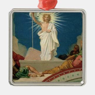 キリスト1860年の復活のための勉強 メタルオーナメント