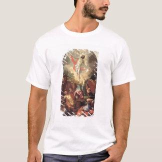 キリスト(キャンバスの油)の復活 Tシャツ