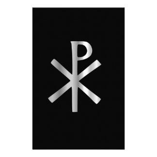 キリスト-キーのrhoのモノグラム 便箋