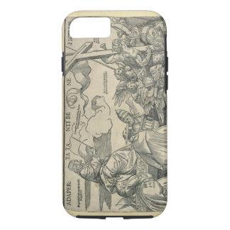 キリスト(木製の版木、銅版、版画)の勝利 iPhone 7ケース