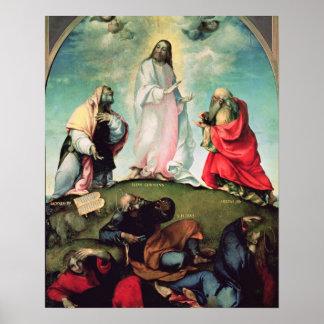 キリスト、c.1510-12 (pの変容の油 ポスター