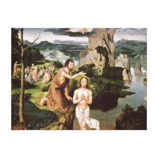 キリスト、c.1515の洗礼 キャンバスプリント