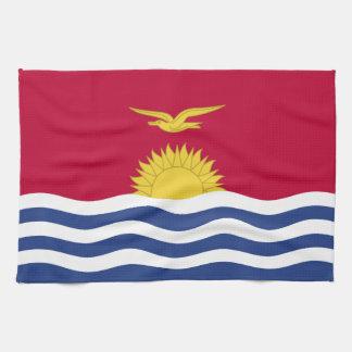 キリバス共和国の旗 キッチンタオル