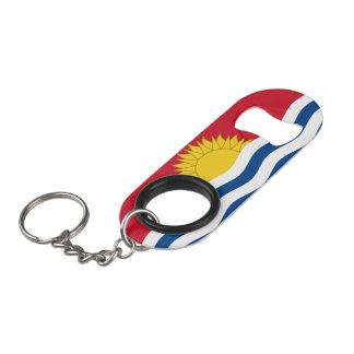 キリバス共和国の旗 キーホルダー栓抜き