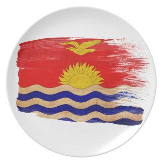 キリバス共和国の旗 プレート