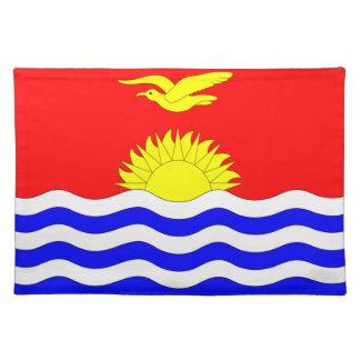 キリバス共和国の旗 ランチョンマット
