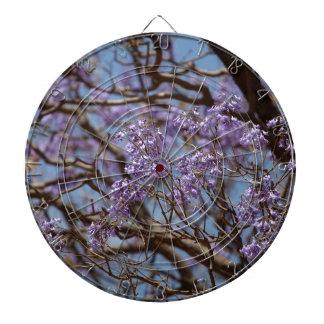 キリモドキの木の青い花 ダーツボード