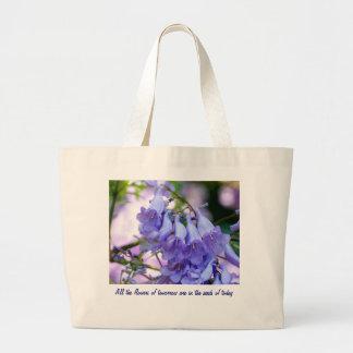 キリモドキの花 ラージトートバッグ