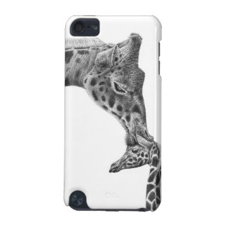 キリンおよび子牛のSpeckの場合 iPod Touch 5G ケース