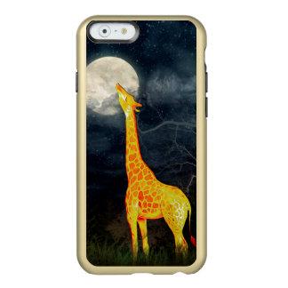 キリンおよび月|の羽の輝やきのiPhone 5/6のケース Incipio Feather Shine iPhone 6ケース