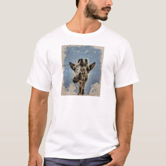 キリンのかみ砕くこと Tシャツ