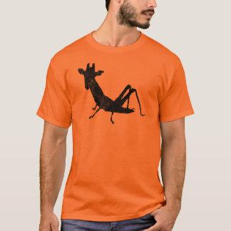 キリンのバッタメンズティー Tシャツ