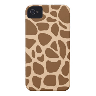 キリンのプリントの野生動物は彼女のためのギフトを模造します Case-Mate iPhone 4 ケース
