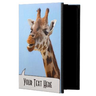 キリンのポートレートのカスタムのケース iPad AIRケース