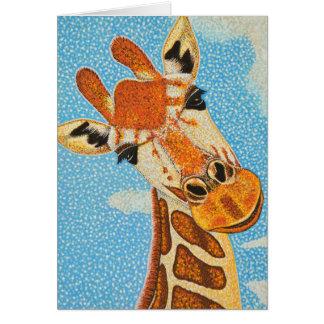 キリンの挨拶状 カード