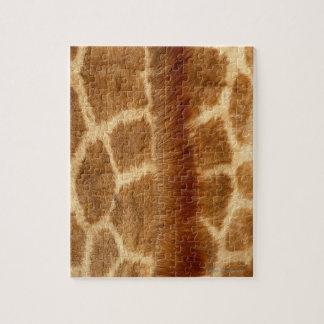 キリンの毛皮 ジグソーパズル
