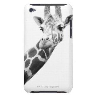 キリンの白黒ポートレート Case-Mate iPod TOUCH ケース