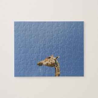 キリンの頭部 ジグソーパズル