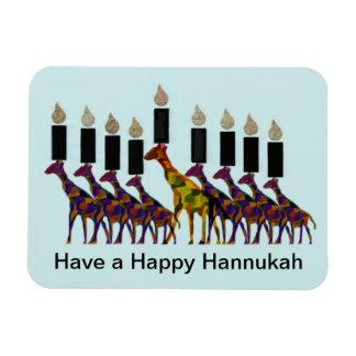 キリンのHannukahの(ユダヤ教)メノラーの報酬の磁石 マグネット