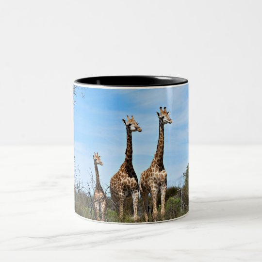 キリン家族 ツートーンマグカップ