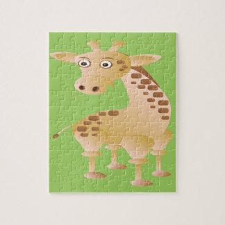 キリン、かわいい動物 ジグソーパズル