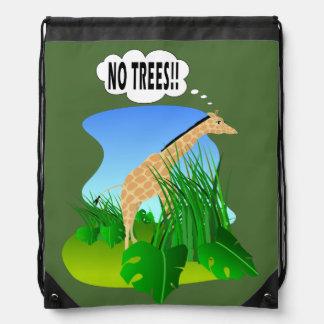 キリン: 木無し ナップサック
