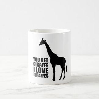 キリンI愛キリンのマグを賭けました コーヒーマグカップ