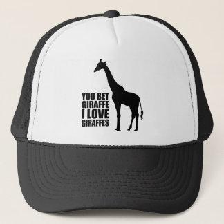 キリンI愛キリンの帽子を賭けました キャップ