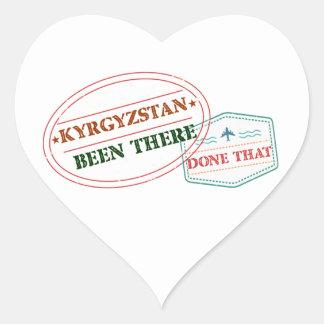 キルギスタンそこにそれされる ハートシール