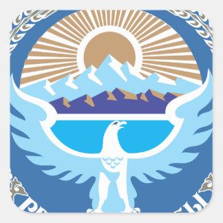 キルギスタンの国章 スクエアシール