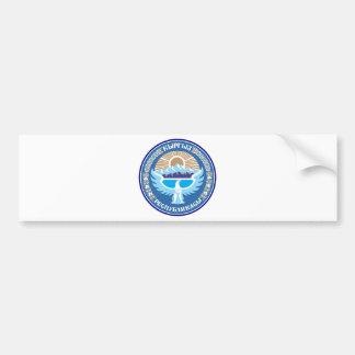 キルギスタンの国章 バンパーステッカー