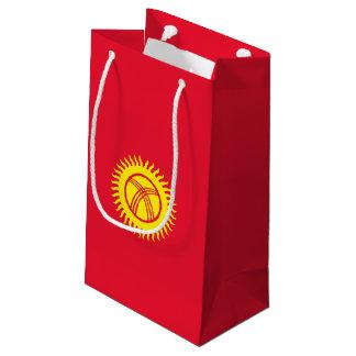 キルギスタンの旗 スモールペーパーバッグ