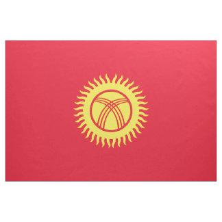 キルギスタンの旗 ファブリック