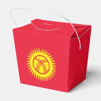 キルギスタンの旗 フェイバーボックス