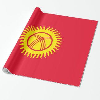 キルギスタンの旗 ラッピングペーパー
