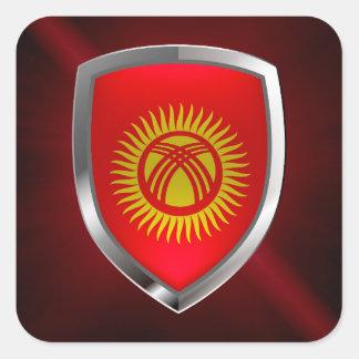 キルギスタンの金属紋章 スクエアシール