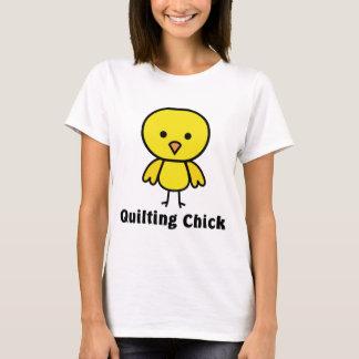 キルティングのひよこ Tシャツ