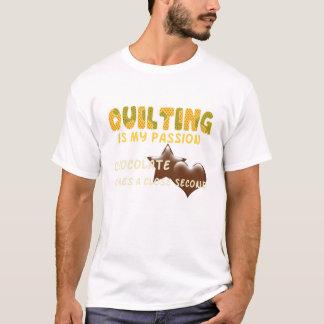 キルティングの情熱 Tシャツ