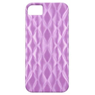 キルトにされたサテン、薄紫 iPhone SE/5/5s ケース