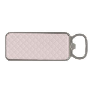 キルトにされるシャーロットのピンク赤ん坊のプリンセスのピンク正方形 マグネット栓抜き