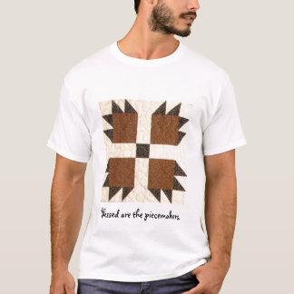 キルトのブロックのTシャツ Tシャツ