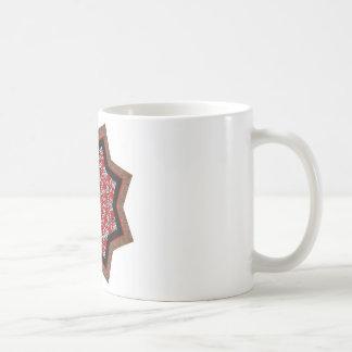 キルトの星#1 コーヒーマグカップ
