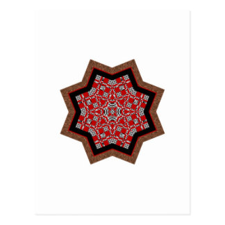 キルトの星#1 ポストカード