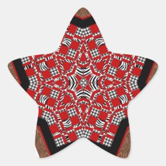 キルトの星#1 星シール