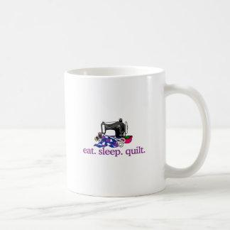 キルト(機械) コーヒーマグカップ