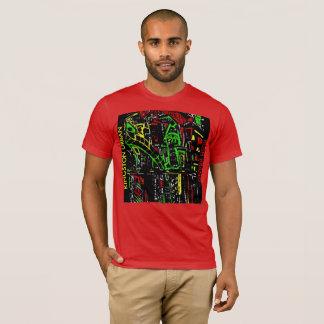 キングストンの都市SATIVA Tシャツ
