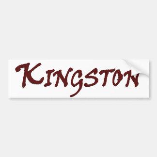 キングストンMAの町 バンパーステッカー