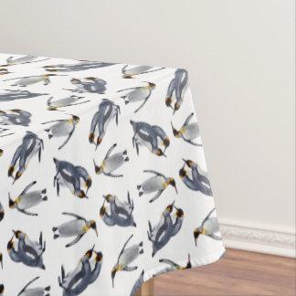 キングペンギン逆上のテーブルクロス(色を選んで下さい) テーブルクロス