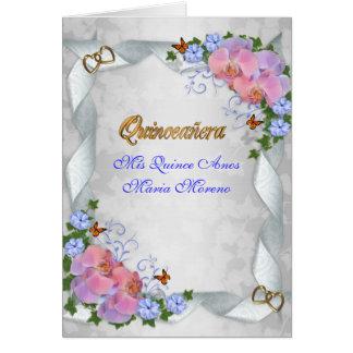 キンセアニェラの招待MisのマルメロAnos第15 カード