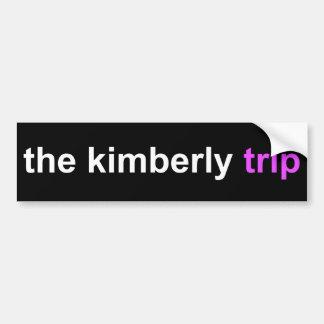 キンバリー旅行 バンパーステッカー